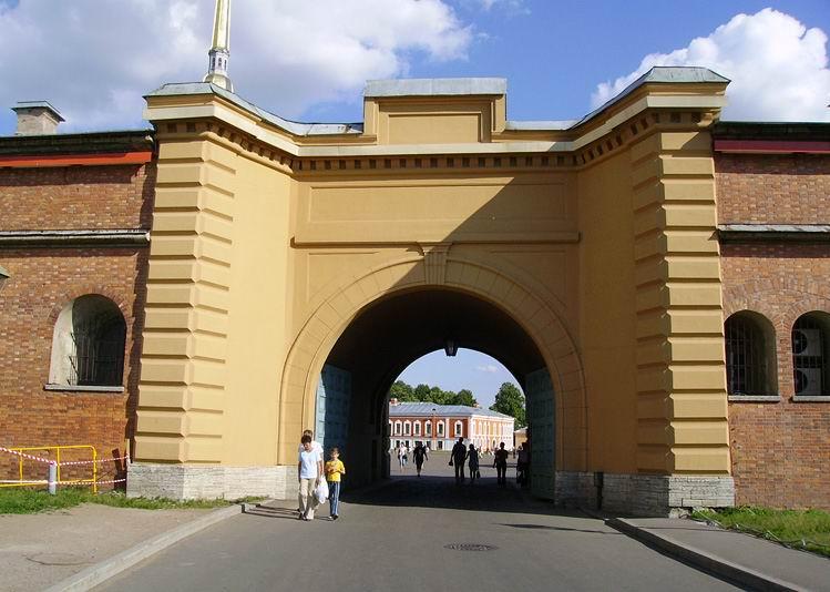 Петропавловская крепость в Санкт Петербурге