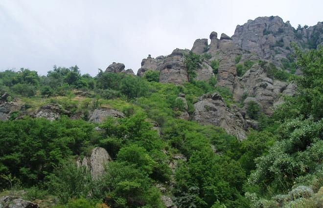 Долина Призраков Демирджи