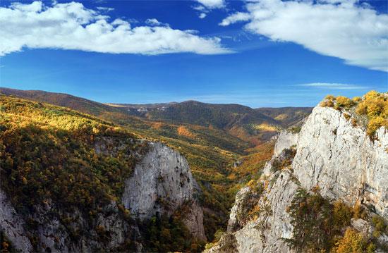 большой каньон крыма фото