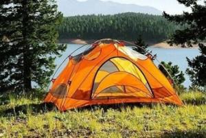 Ремонт туристической палатки для походов